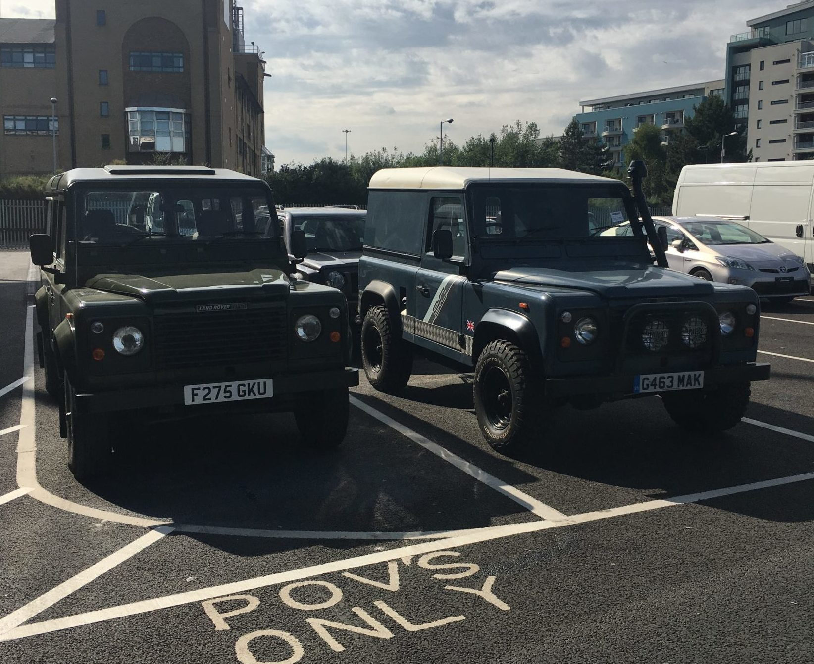 Importing A Classic Land Rover Defender Part I Bishop