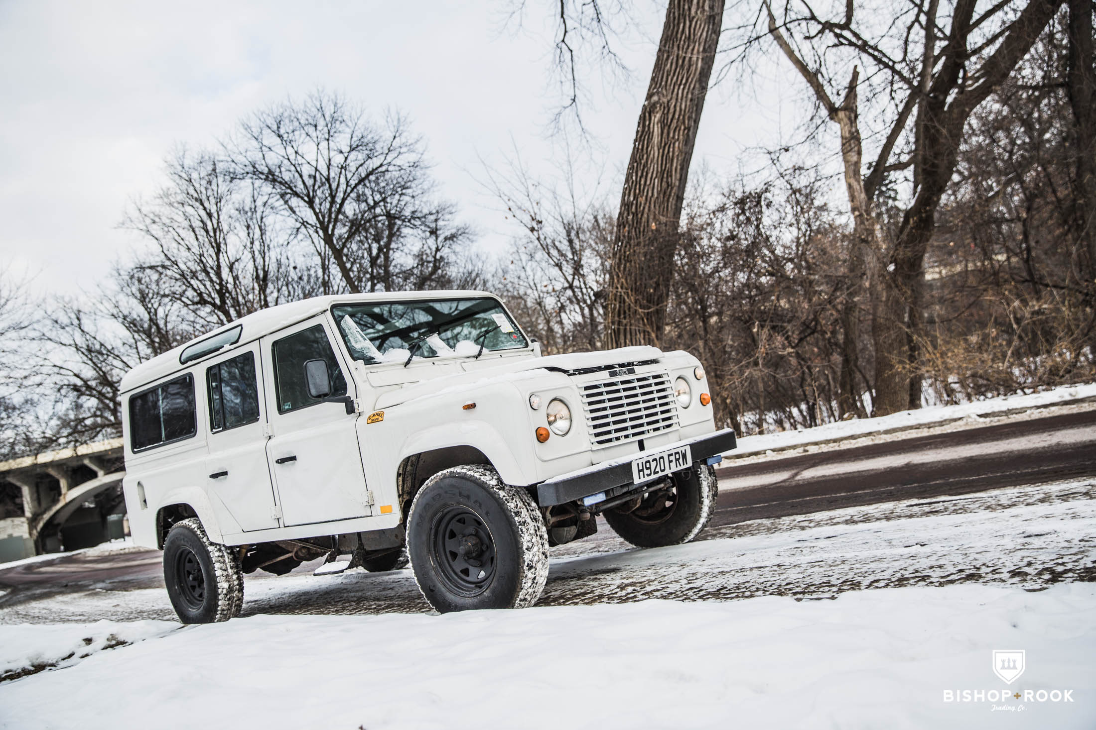 Importing a Classic Land Rover Defender (Part II) - Bishop+Rook ...